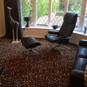 Animal Print Carpet